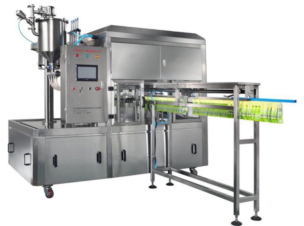 Middle spout filling machine MR80-200G