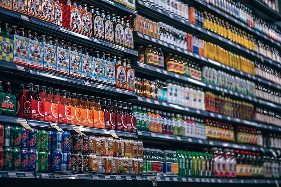 beverages-bottles-shelf-cans